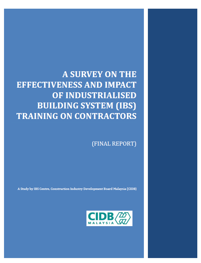 A SURVEY ON THE EFFECTIVENESS TRAINING ON CONTRACTORS